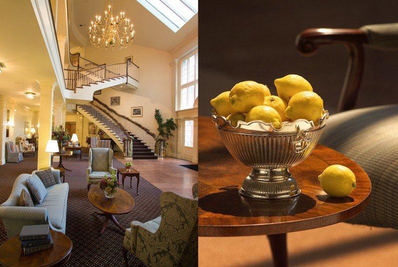 architectural hotel interiors