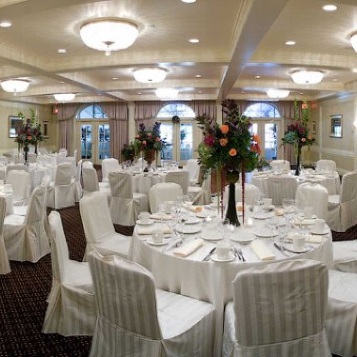 architectural panoramic ballroom