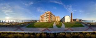 architectural panoramic condos