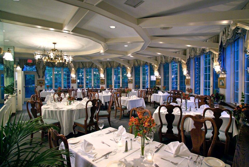 architectural restaurant interior