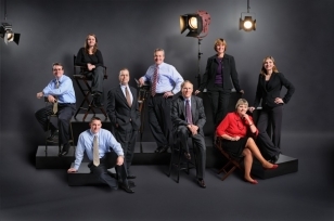 corporate group portrait