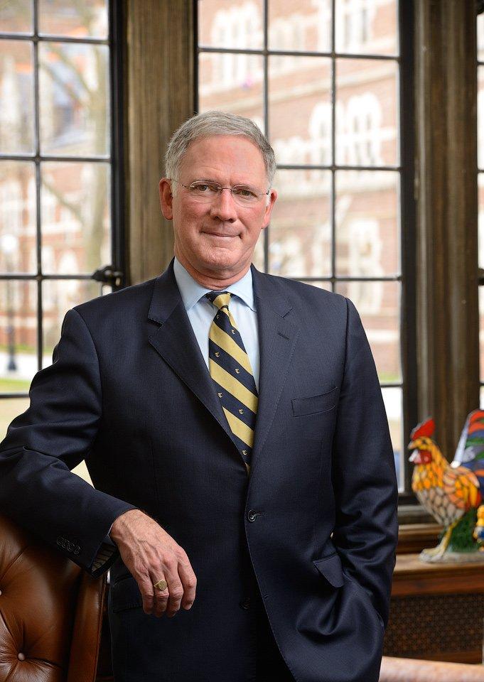 college president portrait